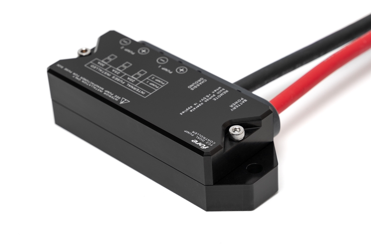 I just recently ordered the Fore FC2 dual pump controller with 6AWG wiring  upgrade for my dual GSL392 setup.