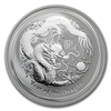 2012 1oz Australian Silver Dragon Series II