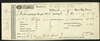 Partly-Printed 1845 Vicksburg City Tax Receipt - Slaves