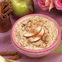 Oatmeal - Apples and Cinnamon