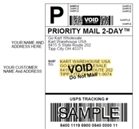 Drop Ship with generic packing slip and your return shipping label