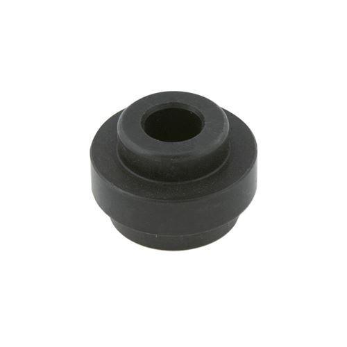 BIG ALUMINUM SEMI-BUSHING FOR REAR BUMPER (28mm) BLACK ANODIZED