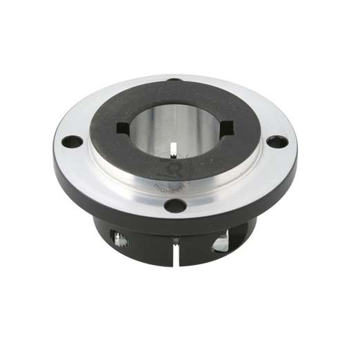 ALUMINUM DISK CARRIER FOR 25mm AXLE, BLACK