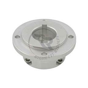 ALUMINUM DISK CARRIER FOR 40mm AXLE, SILVER