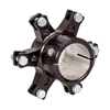 40mm Aluminum Floating Brake Disc Hub, Black