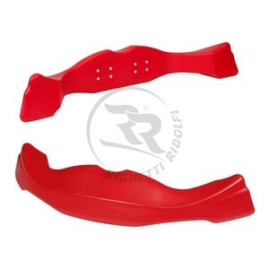 XTR14 FRONT SPOILER RED COLOR