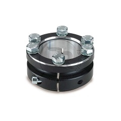 ALUMINUM SPROCKET CARRIER FOR 30mm AXLE, BLACK