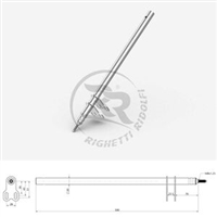 Birel Style Steering Column M8 Length 510 mm