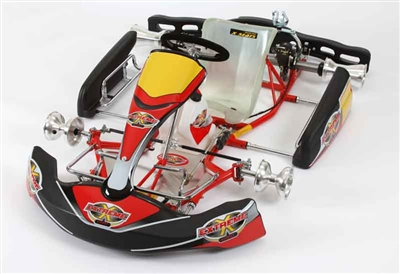 World Formula Kart  30mm Tube Frame  40mm Axle  Chassis-by Righetti Ridolfi