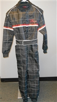 Black Z-Racing Kart Suit