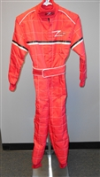 Red Z-Racing Kart Suit