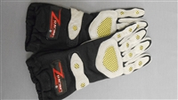Z Racing Deluxe Gloves Black/Grey Size