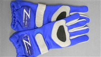 Z Racing Gloves Blue/Grey