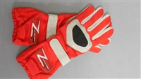 Z Racing Gloves Red/Grey