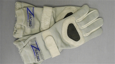 Z Racing Gloves Silver/Grey