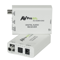 AVPro Edge's Universal 150M Digital Audio Extender Over CAT w/ Dolby®  Digital & DTS®