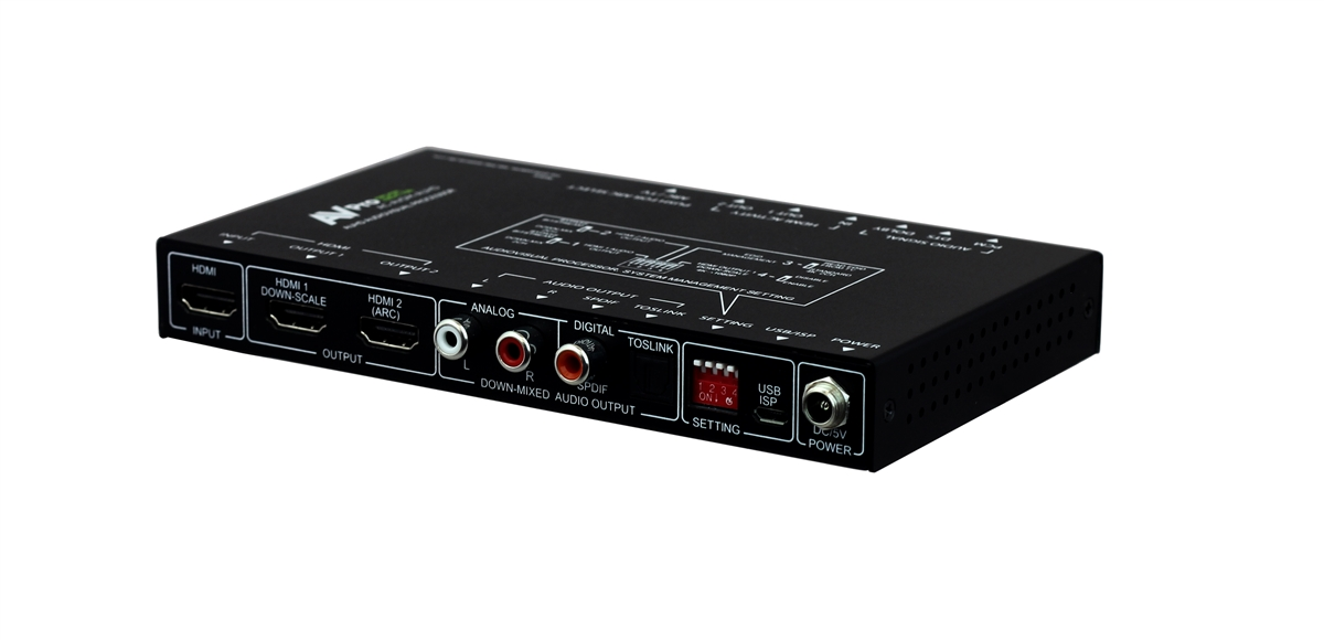 18gbps 8 Ch Bit Stream Decoder Downmixer Supporting Dolby Audioâ Dts Hdâ