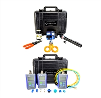 Bullet Train fiber test & termination kit