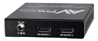 AVPro Edge 4K60 (4:4:4) 1x2 HDMI to Displayport