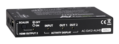 AVPro Edge AUHD 1x2 HDMI Distribution Amplifier