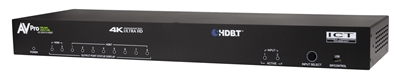 AVPro Edge 18Gbps 2 In /10 Out Distribution Amplifier with HDBaseT