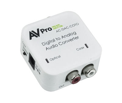 AVPro Edge's Digital to Analog Audio Converter
