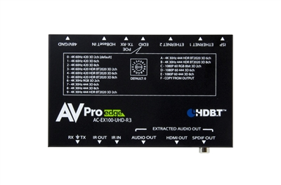 AVPro Edge's BAE 100 Meter Receiver with Bi-Directional Power