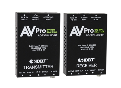 4K 70M HDMI 2.0 Extender With HDCP 2.2 HDBaseT with POH and 2 way IR RS232