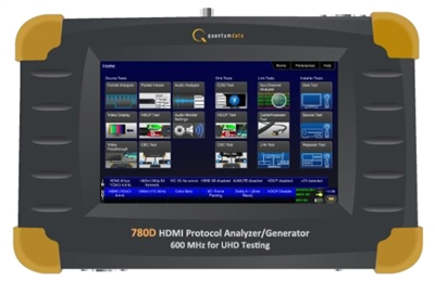 QD780D (600  MHZ AND  HDCP 2.2 FOR UHD TESTING)