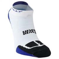 Hilly Twinskin Socklet (White/Electric Blue/Black)