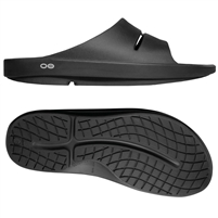 OOFOS MEN'S OOAHH SLIDE BLACK (2020)