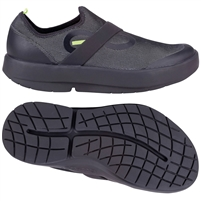 OOFOS MEN'S OOMG FIBRE LOW BLACK/GREY (2020)