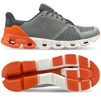 On Cloudflyer 2 Men's Running Shoes (Grey/Orange)