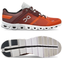 On Cloudflow 2 Mens Running Shoe. (Flare/Dawn)