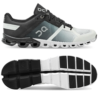 On Cloudflow 2 Mens Running Shoe (Black/White)