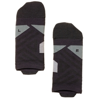 On Running Men's Low Sock. (Black Shadow)
