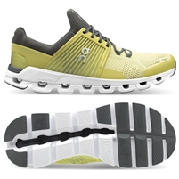 On Cloudswift Men's Road Running Shoe. (Limelight/Rock)
