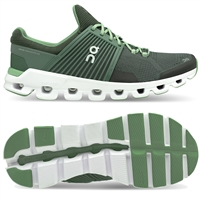 On Cloudswift Men's Road Running Shoe. (Ivy/Jungle)