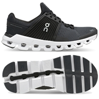 On Cloudswift Men's Road Running Shoe. (Black/Rock)