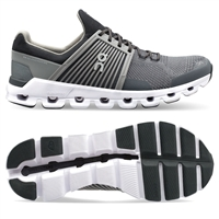 On Cloudswift Men's Road Running Shoe. (Rock/Slate)
