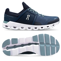 On Cloudswift Men's Road Running Shoe. (Denim/Midnight)