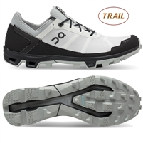 On Cloudventure Peak Trail Running Shoes (White/Black)