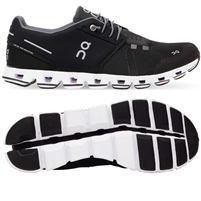 On Cloud Women's Running Shoe (Black/White)