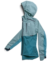On Running Women's Weather Jacket (Sea/Storm)