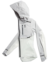 On Running Women's Weather Jacket (Grey/White)