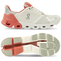 On Cloudflyer 2 Women's Running Shoes (White/Coral)