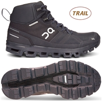 On Cloudrock Waterproof Women's Speed-Hiking Trail Shoe (All Black)