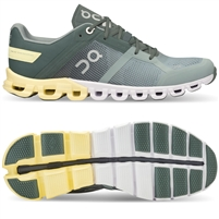 On Cloudflow 2 Women's Running Shoe. (Sea/Limelight)