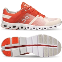 On Cloudflow 2 Women's Running Shoe. (Rust/Rose)