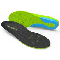 Superfeet FLEXmax Shoe Insoles. (Emerald)